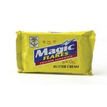 MAGIC FLAKES sandwich cracker BUTTER CREAM Kräcker (10x28g)280g