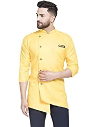BENSTOKE Men's Cotton Regular Kurta
