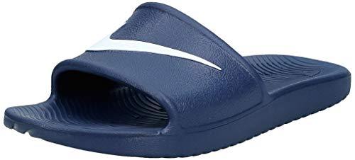 Nike Kawa Shower, Zapatos de Playa y Piscina Unisex Adulto, Blanco Blanco 832528 400, 42.5 EU