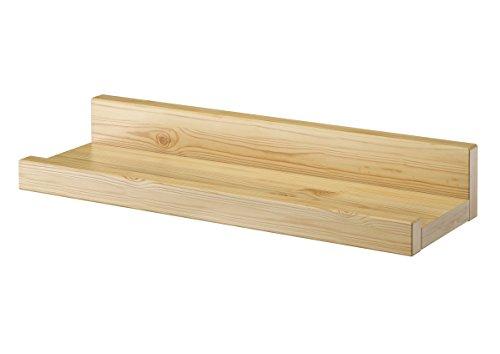 fotoleiste holz Erst-Holz® Wandregal Massivholz Kiefer Fotoleiste für Bilder Bücher und Deko 90.82-11