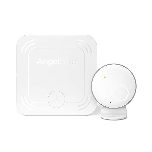 Angelcare Ac027 Baby Movement Monitor Angelcare New smaller, wireless sensasure movement sensor pad Alarm will sound if there is no movement after 20 seconds Non-contact monitoring 1