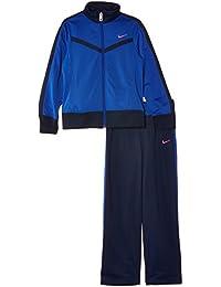 NIKE Trainingsanzug T40 T Warm Up - Chándal de fitness para niña, color azul, talla XL