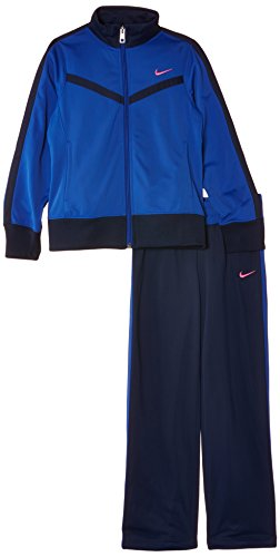 Nike Mädchen Trainingsanzug T40 T Warm Up, Game Royal/Midnight Navy/Hyper Pink, L, 588989-480