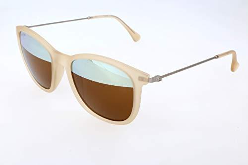 Calvin Klein Herren oK Sonnenbrille, Beige, 53