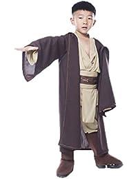 Daiendi Jedi Costume Enfants Halloween Cosplay Ensemble complet Star Wars Tenues
