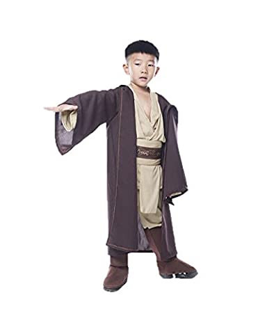 Costumes Jedi Halloween - Daiendi Jedi Costume Children Halloween Cosplay Full