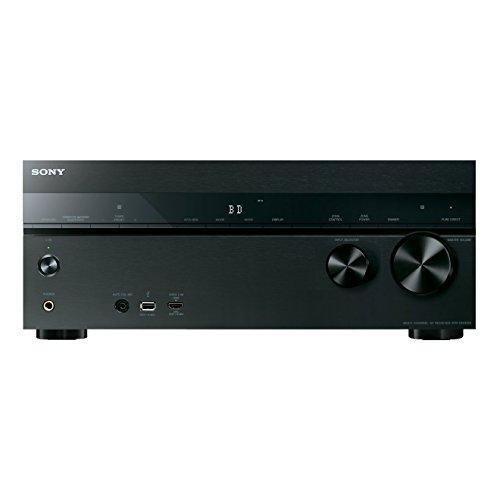 Sony STR-DN1050 7.2 Kanal Receiver (4K Upscaling, 3D, 6x HDMI IN, 2x HDMI OUT, GUI, WLAN integriert, Bluetooth, NFC, AirPlay, DLNA, Internetradio, Spotify) schwarz