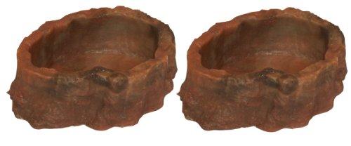 Namiba Terra 25701per la Pappa, 11x 9x 5cm, Confezione da 2Rosso