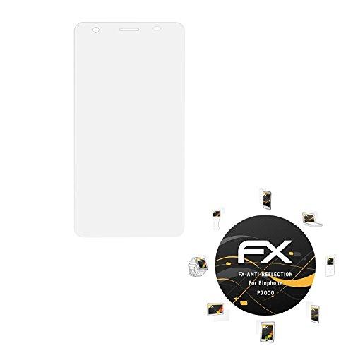 atFolix Panzerfolie kompatibel mit Elephone P7000 Schutzfolie, entspiegelnde & stoßdämpfende FX Folie (3X)