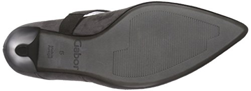 Gabor Shoes 31.282 Damen Knöchelriemchen Pumps ,Grau (zinn 19) ,39 EU -