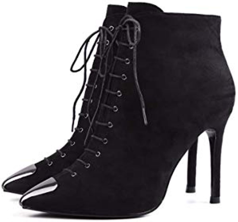 KPHY Chaussures Femmes/Un 9Cm Haut 9Cm Femmes/Un Velours Sexy Élégante Minces Et Hauts Talons À La Mode des Bottes pour Femmes.B07HPBG98CParent 2bcdaa