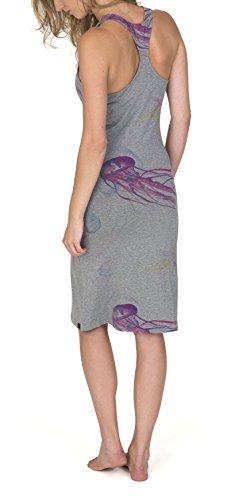 Burton Damen Kleid WB Kenosha Dress Monumnt Hthr Jllyfsh