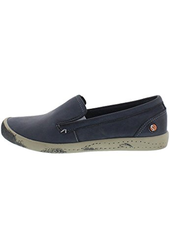 Softinos Ita Washed, Mocassins femme purple