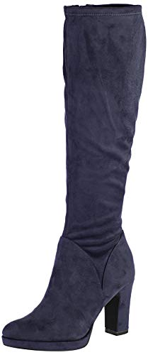 Tamaris 1-1-25522-23, Botas Altas para Mujer, Azul Navy 805, 37 EU