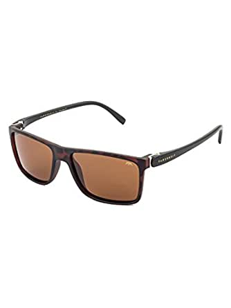 Farenheit UV Protected Wayfarer Unisex Sunglasses - (SOC-FA-2205-C3|55|Brown Color Lens)