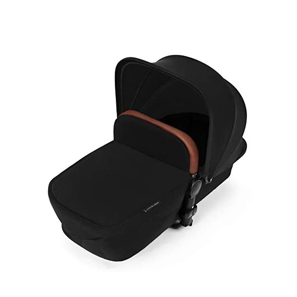 Ickle Bubba Stroller Stomp V3 iSize All-in-One iSize Baby Travel System | Car Seat w/ Isofix Base, Rear and Forward-Facing Pushchair, Carrycot | Black on Black Frame Ickle Bubba I-size all-in-one travel system: features carrycot, reversible pushchair, and mercury i-size car seat with is fix base. deluxe foam tires allow for a smooth ride Forward and parent facing toddler seat + new-born carrycot: flexible seating to cover your child from birth to 3 years old All weather protection: rain cover to cover your child from sudden downpour. machine washable and roomy footmuff 8