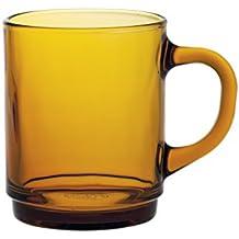 Duralex 4020dr06Versailles–Juego de 6tazas vidrio Vermeil 7cm