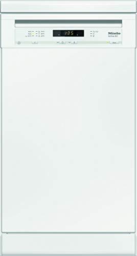 Miele G4620 SC Active Geschirrspüler Freistehend/A+ / 221 kWh/Jahr / 2940 L/Jahr/brilliantweiß/Besteckschublade