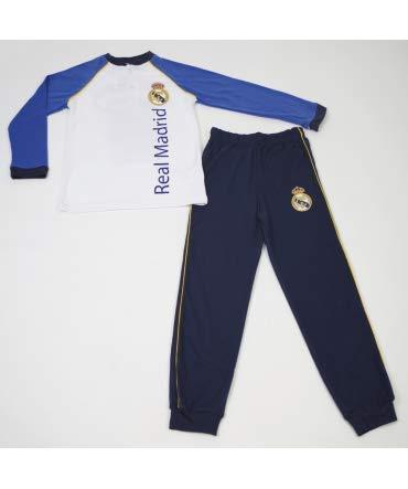 10XDIEZ Pijama NIÑO Real Madrid CAMPEONES 206N - Medidas Albornoces - 8