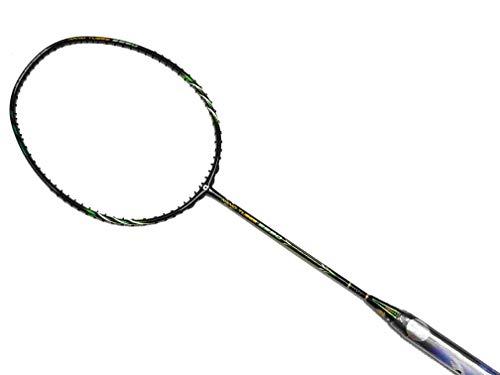 Apacs Nano Tubes 9990 Badmintonschläger, Schwarz
