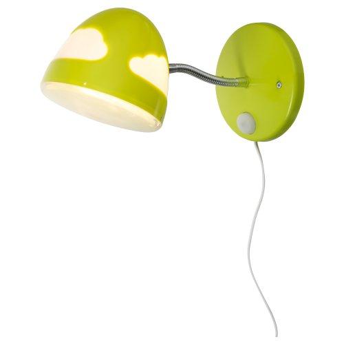 Ikea SKOJIG - Wandleuchte, grün