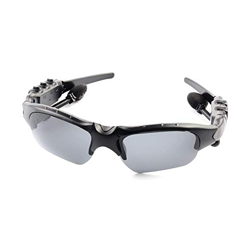 Bluetooth 4.1 Sonnenbrille mit Eingebautem Kabellosem Kopfhörer ZQYR - Stereo Ohrhörer Hände Frei Musik MP3 Player Telefon Anruf für alle Android iOS Smartphone oder PC-Tablet