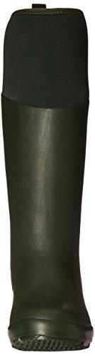 Muck Boots Damen Tremont Wellie Matte Tall Gummistiefel Grün (Deep Forest / Charcoal Gray)