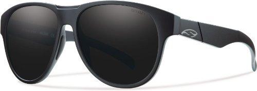 Smith Optics Townsend Sonnenbrille, Herren Damen, Impossibly Black Frame, Blackout Lenses