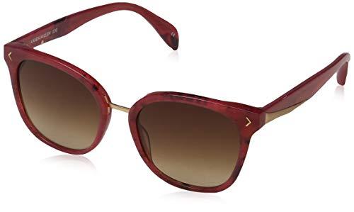 KAREN MILLEN Damen Luxe Sonnenbrille, Rot (Red), 53.0