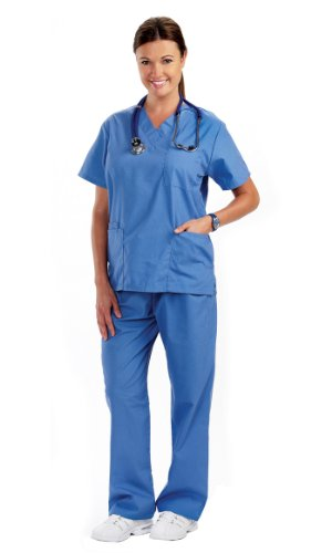 NCD Medical/Prestige Medical  50301-1 scrub top-ciel medium