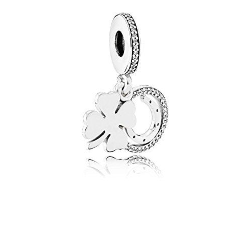 Lucky Charm-armband Charms (Pandora Charm Lucky Day 792089CZ)