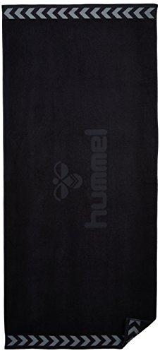 Hummel Unisex Handtuch Old School, schwarz, 160 x 70 cm, 25-065-2001