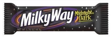 MILKY WAY MIDNIGHT DARK CHOCOLATE BAR 49.9g - AMERICAN CANDY BAR - 6 RIEGEL