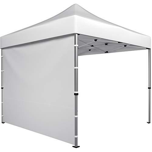 Pared Lateral para Cenador Plegable 3x3m - 1 Parte Lateral - Panel Lateral Blanco
