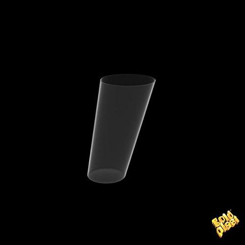 Gold Plast cônes Clear-transparent-120 pièces en pack Contenance 75 cc