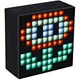 Divoom Aurabox - Altavoz inalámbrico con iluminación LED, color negro
