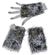 FASCHING 56499 Handschuhe Ratte Halloween NEU/OVP (Ratte Halloween Kostüm)