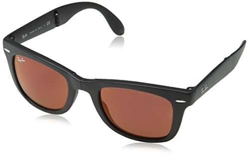Ray-Ban RB4105 Wayfarer Folding Non-Polarized Sunglasses 50mm