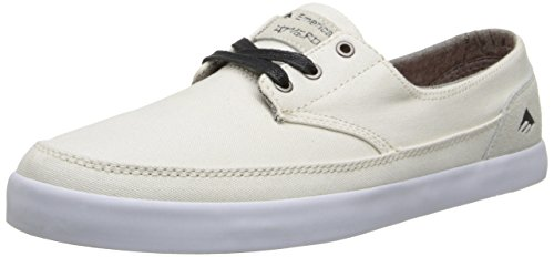 Emerica The Troubadour Low, Herren Skateboardschuhe Weiß
