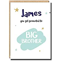 Pregnancy announcement card for mum husband dad Oven in the