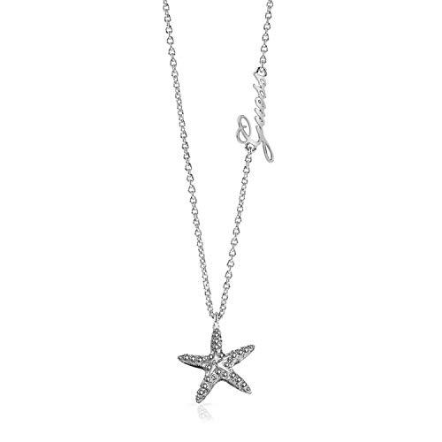 Guess Damen-Kette Edelstahl Kristall One Size 87616533