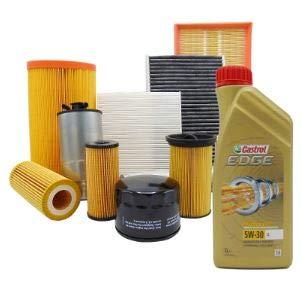 Kit tagliando olio CASTROL EDGE 5W30 5LT 4 FILTRI BOSCH (F026407023, 0450906500, F026400391, 1987432357 OPPURE 1987435502)