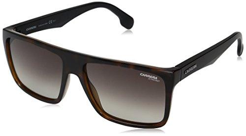Carrera Unisex-Erwachsene 5039/S HA 2OS Sonnenbrille, Schwarz (Havana Mtblack/Brwn Sf), 58
