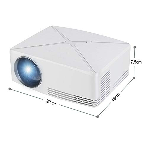 SG Tragbarer Projektor LED Intelligentes Office Home Education Hd Projector,White