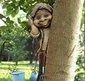 3er Set Baumhänger Zwerg Wichtel Gartenzwerg 57155 von Haushalt International - Du und dein Garten
