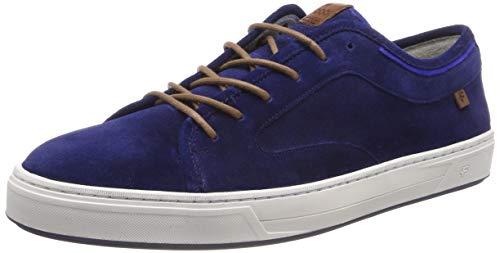 Floris van Bommel Herren 13466/02 Sneaker, Blau (Blue 02), 41 EU (Vans Blue Suede)