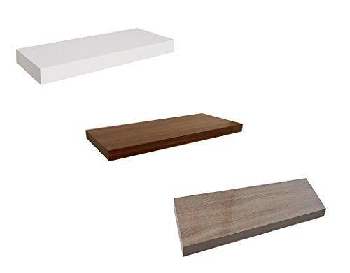 Dekorative Wandregale in verschiedenen Varianten - 3 Farben 4 Längen (60 cm, Eiche)