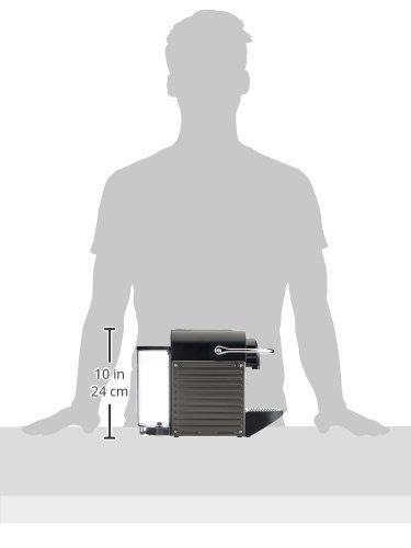 Nespresso Pixie con Aeroccino XN301T macchina per caffè espresso di Krups, colore Electric Titan - 7