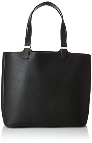 PIECES Damen Pckopa Shopper Noos Schultertasche, Schwarz (Black), 17x27x30 cm