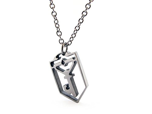 ingress-resistance-key-necklace-stainless-steel-handmade-length-45-5cm